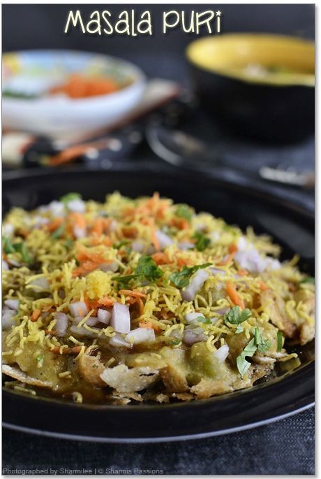 Masala Puri Chaat Recipe