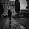 walking in the rain by Redfinn-Photoart