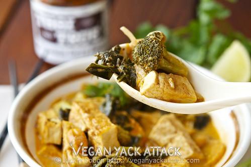 Crispy Tofu Thai Curry + June Vegan Food SwapVegan Yack Attack | Vegan ...