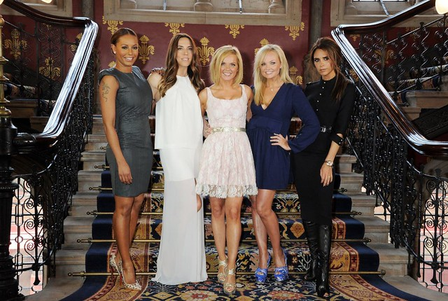 So yesterday the Spice Girls reunited