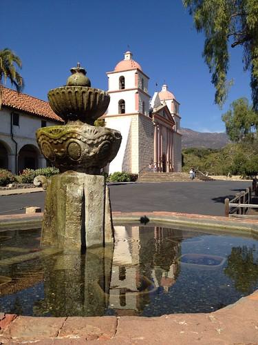The Mission at Santa Barbara