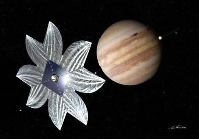 JAXA Jupiter Sail