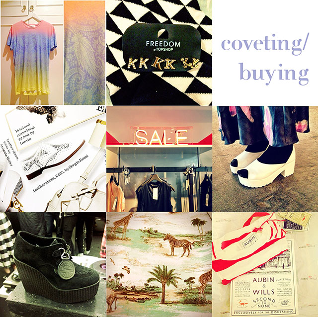 coveting buying june  fashion blogger instagram post