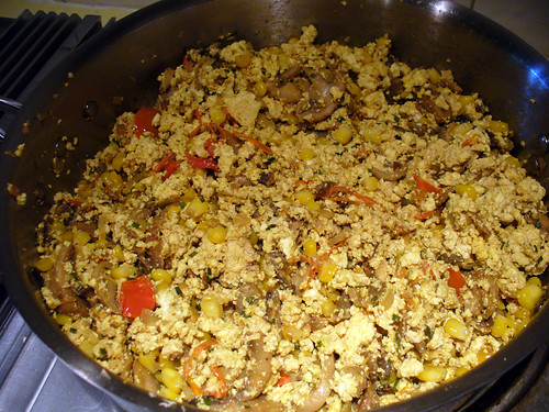 2012-06-30 - Tofu Scramble for Pizza - 0005