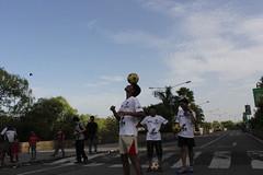 Marziya Shakir 4 year old shoots the football marathon 2012 by firoze shakir photographerno1