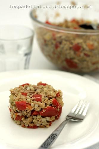 Barley tuna capsicums / Orzo tonno peperoni