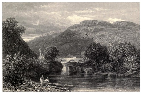 014- Puente cerca de Bettws y Coed-Wanderings and excursions in North Wales (1853)- Thomas Roscoe