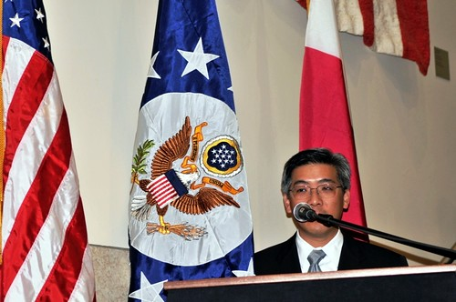 Eric Wong, Chargé d'Affaires of US Embassy - Madagascar