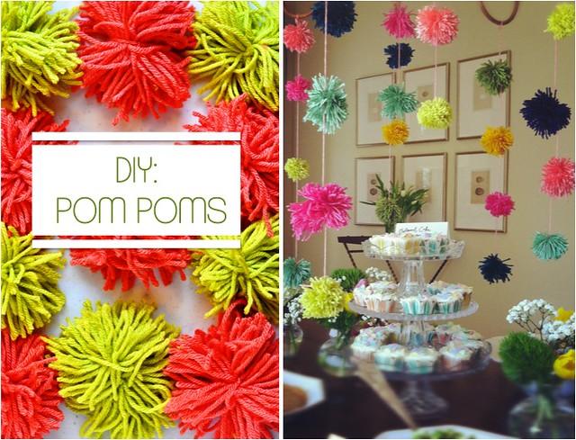 DIY Pom Poms