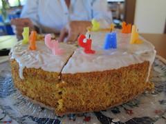 produce(0.0), torte(0.0), cake(1.0), baking(1.0), buttercream(1.0), carrot cake(1.0), baked goods(1.0), food(1.0), cake decorating(1.0), icing(1.0), birthday cake(1.0), dessert(1.0),