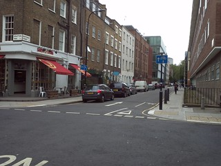 Whitfield Street/Grafton Way (facing S)