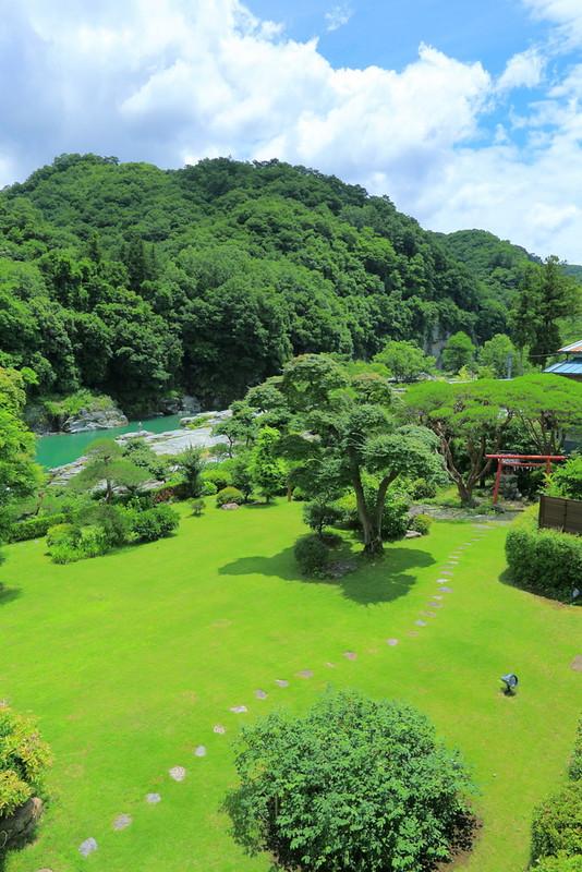 初夏の庭園4