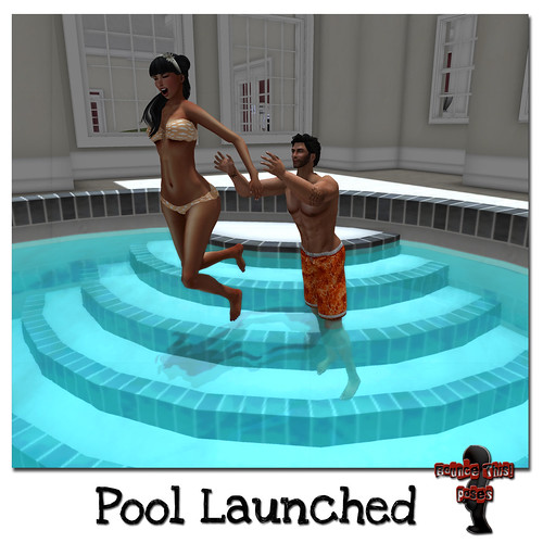 Bounce This Poses - Pool Launched