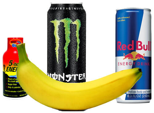 Energy Drinks? Have a Banana.