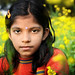 Bengali Girl in the Field by David_Lazar