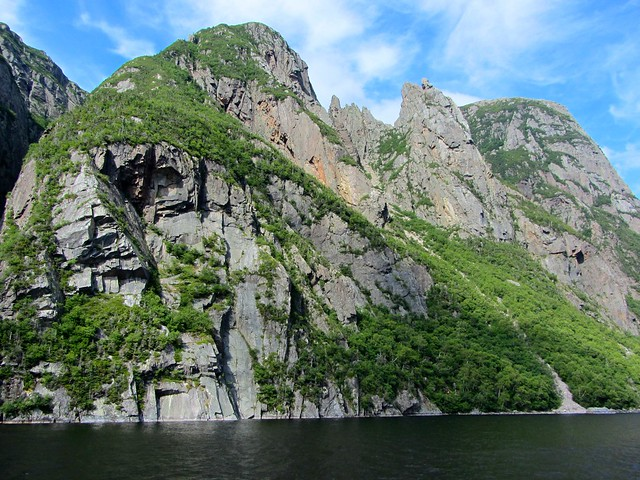 Awesome Cliffs on Western Brook Pond