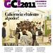 Portada de la primera revista corporativa de la Galiciencia, realizada por los propios participantes