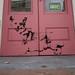 Corgi, Stewy stencils, Cupcake Cafe, Margate