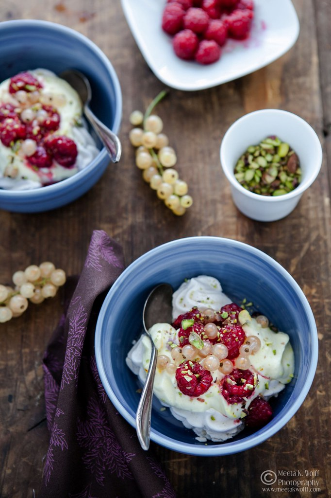 Saffron Raspberry Eton Mess (0078) by Meeta K. Wolff