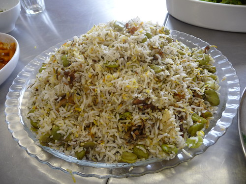 Baghali Polow (Broad beans Rice)