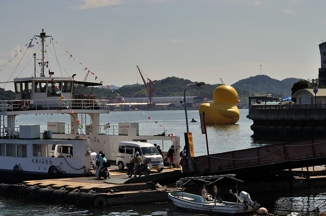 Rubber Duck in Onomichi