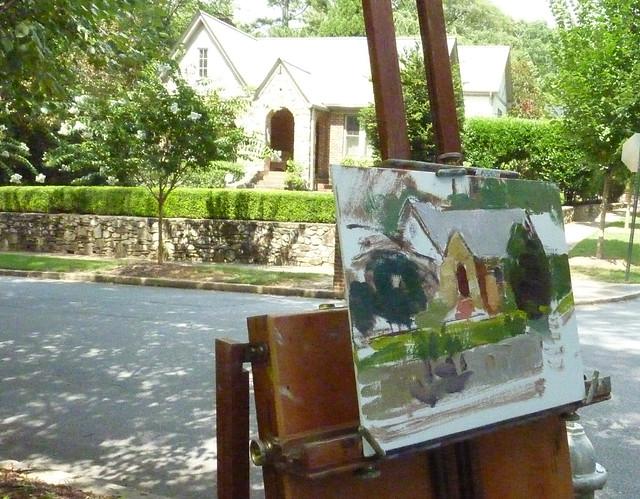P1100440-2012-07-18-Charles-Cashwell-Fine Portraits-House-Portrait-Pelham