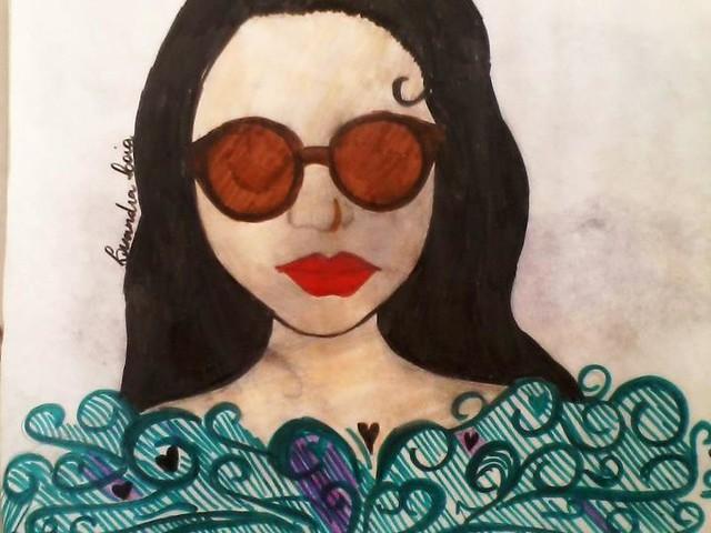Desenho por Lisandra Loia