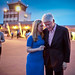 President Clinton and Chelsea Clinton in Kigali