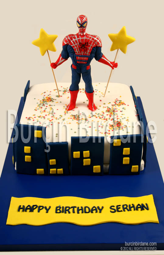 The Amazing Spiderman Cake