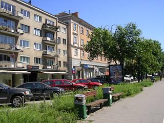 Architecture in Vilnius city