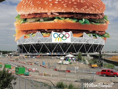 OLYMPIC STADIUM by Colonel Flick