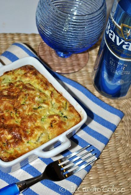 Gratin di zucchine, riso e Cusiè con Pecora e Vacca (2)