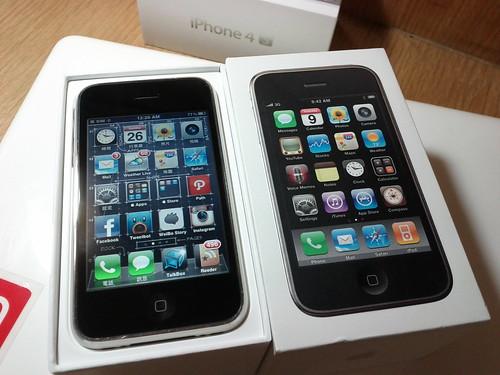 le téléphone iPhone