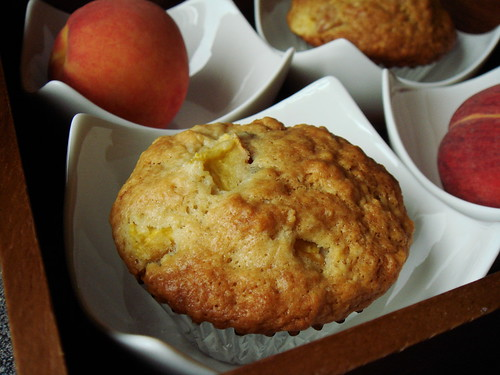 Ginger Peach Muffin