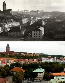 Gothenburg, Masthugget 1939 / 2010