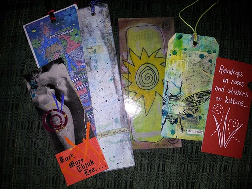 Bookmarks From The Freakwerx Swap by northwoodsluna