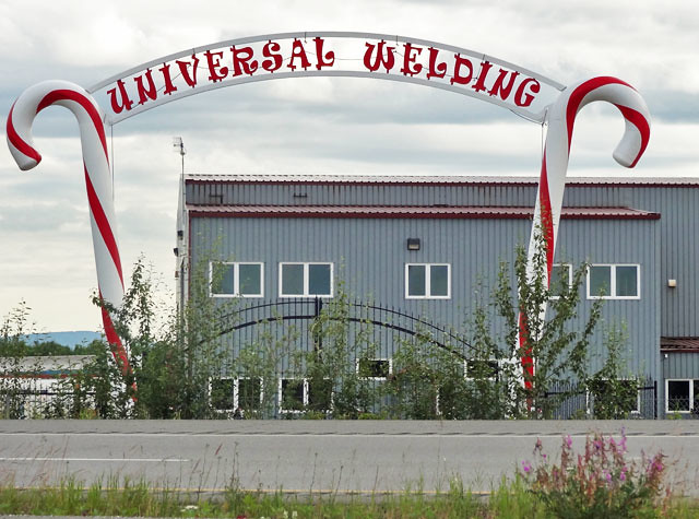 Universal Welding, North Pole, Alaska