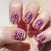Nail Art - Oncinha Gradient (Animal Print Challenge)