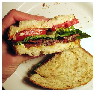 BLTD sandwich