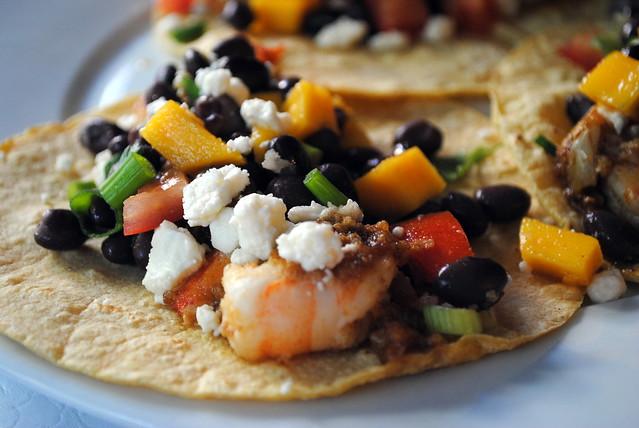 Shrimp with Black Bean & Mango Salsa | Flickr - Photo Sharing!