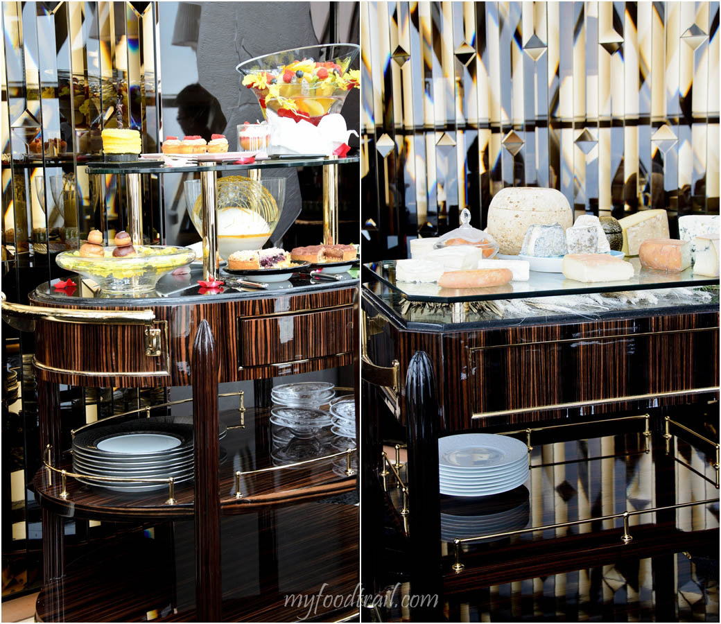 Joel Robuchon au Dome, Macau - Dessert and cheese trolley