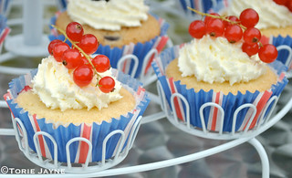 British flag cupcake wrappers