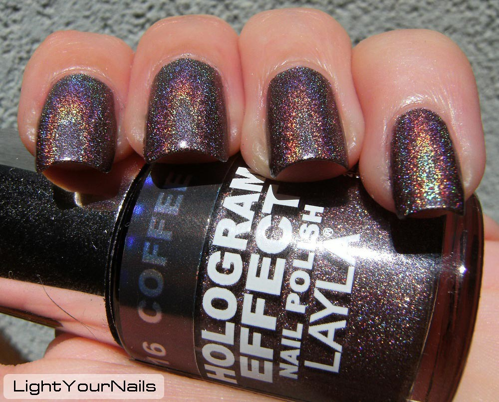 Layla Hologram Effect n. 16 Coffee Love