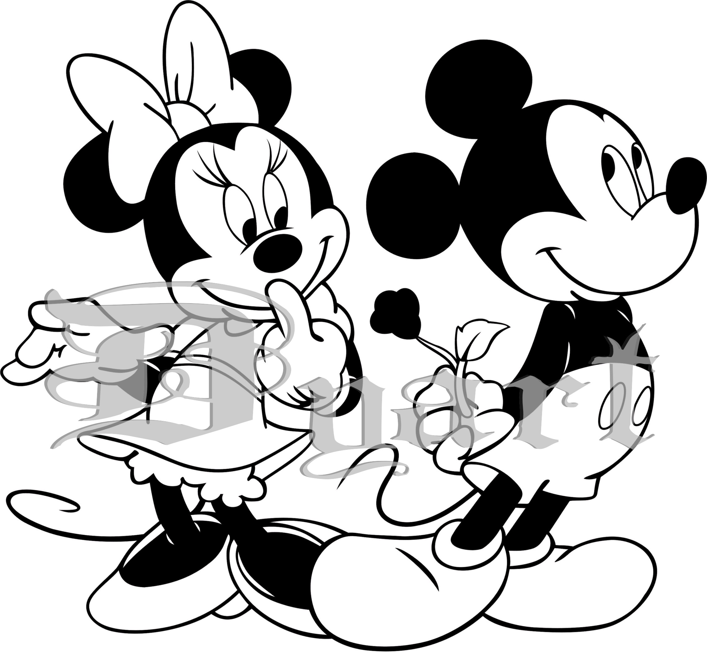 mickey mouse thanksgiving coloring pages - photo#34