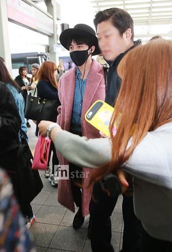 Big Bang - Incheon Airport - 21mar2015 - G-Dragon - FN Star - 05