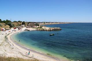 Image of  Plaja Eforie  near  Eforie Nord. eforienord landscape blacksea mareaneagră mareaneagra romania