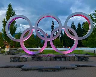 Olympic Rings, Whistler B.C.
