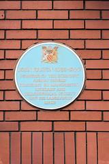 Photo of John Dalton blue plaque