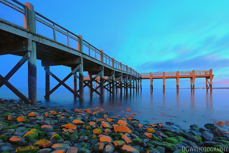 Gulf Beach Pier, Milford, CT
