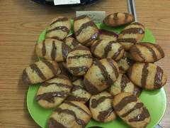 Chocolate & Hazelnut Madelienes